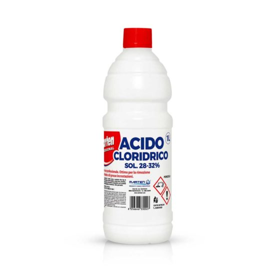 marten acido cloridrico 1lt