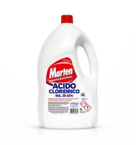 marten acido cloridrico 4lt