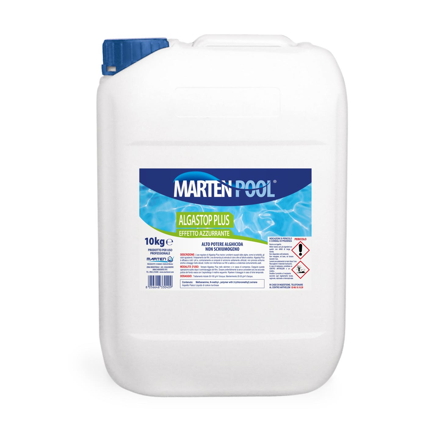 marten pool algastop plus 10kg