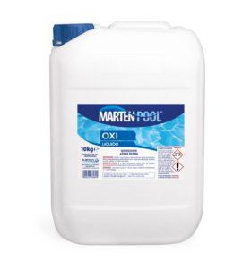 marten pool oxi liquido 10kg