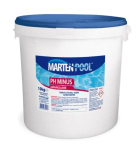 marten pool ph minus granulare 10kg