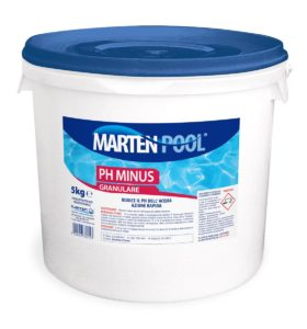 marten pool ph minus granulare 5kg