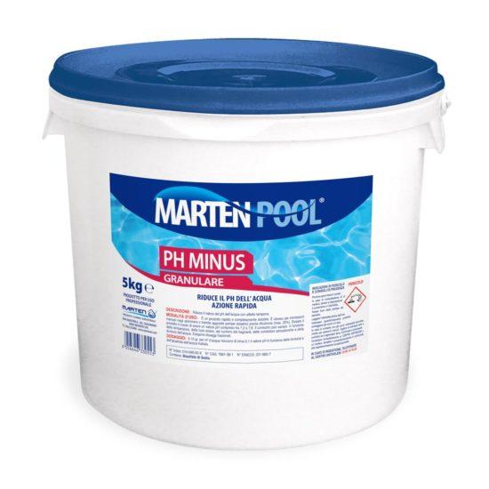 marten pool ph minus granulare 5kg