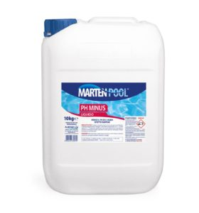 marten pool ph minus liquido 10kg