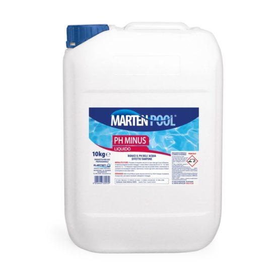 marten pool ph minus liquido 10kg
