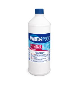 marten pool ph minus liquido 1kg