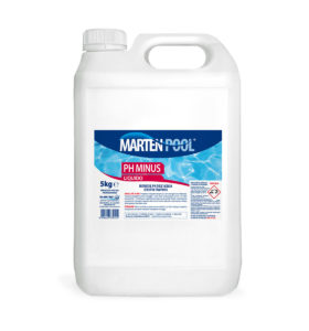marten pool ph minus liquido 5kg