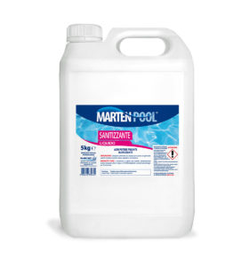 marten pool sanitizzante liquido 5kg