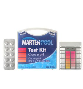 marten pool test kit cloro pH