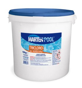 marten pool tricloro past 500gr 10kg