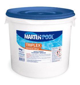 marten pool triplex pastiglie 200gr 5kg