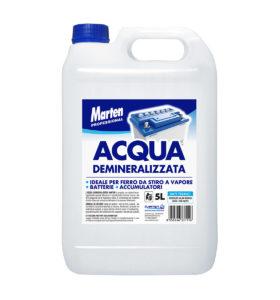 marten professional acqua demineralizzata 5lt
